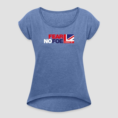 the quintessential british brand - Women's T-Shirt with rolled up sleeves