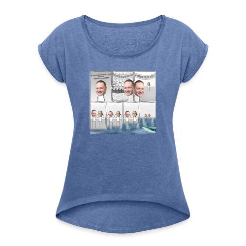 Klimaforandringer i DF - Dame T-shirt med rulleærmer
