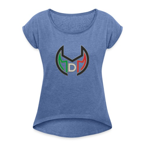 Logo MdM png senza sfondo - Maglietta da donna con risvolti