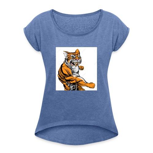 T-shirt Boubi - T-shirt à manches retroussées Femme