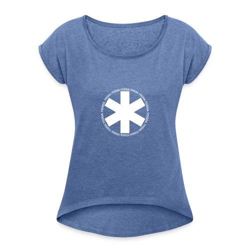 yogga_2 - T-shirt à manches retroussées Femme