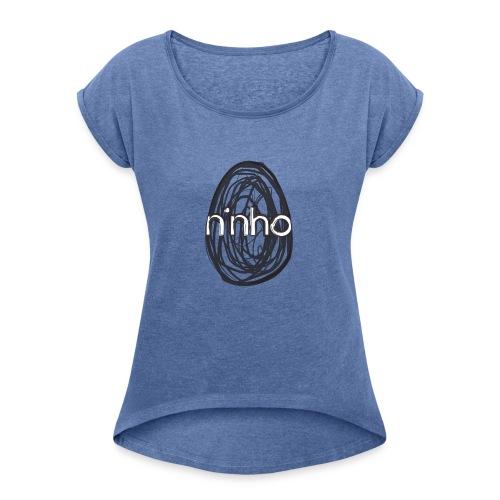 Ninho Child Draft - Maglietta da donna con risvolti