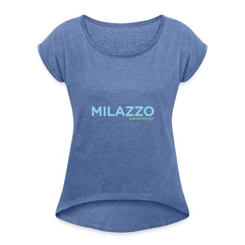 MILAZZO - Maglietta da donna con risvolti