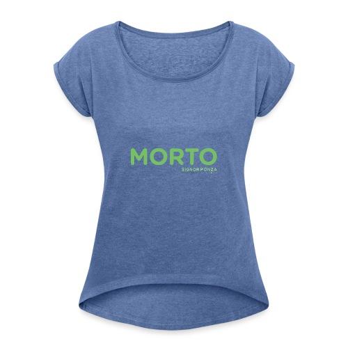 MORTO - Maglietta da donna con risvolti