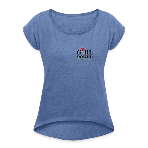 Girl power - Maglietta da donna con risvolti