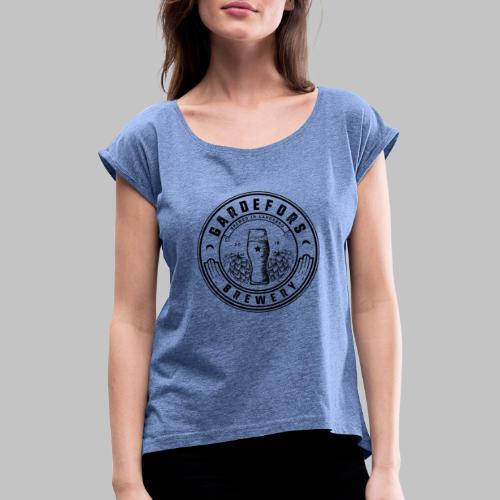 Gardefors Brewery - T-shirt med upprullade ärmar dam