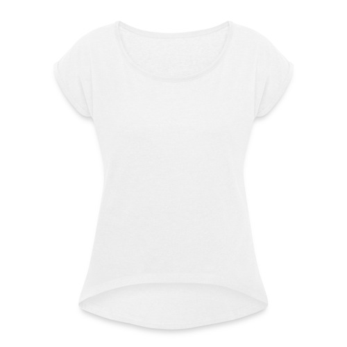 Tee1500 pint 01b - Women's T-Shirt with rolled up sleeves