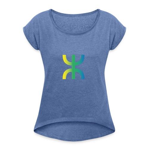 Z2 - T-shirt à manches retroussées Femme