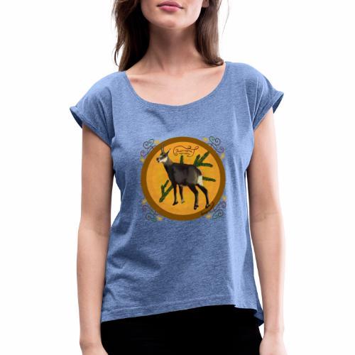 Chamois chamois - T-shirt à manches retroussées Femme