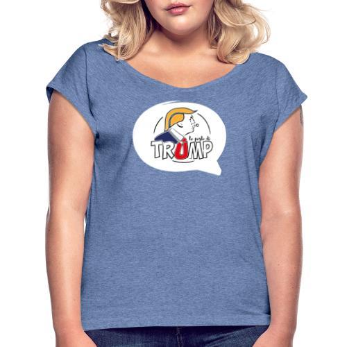 Le perle di Trump Fumetto - Maglietta da donna con risvolti