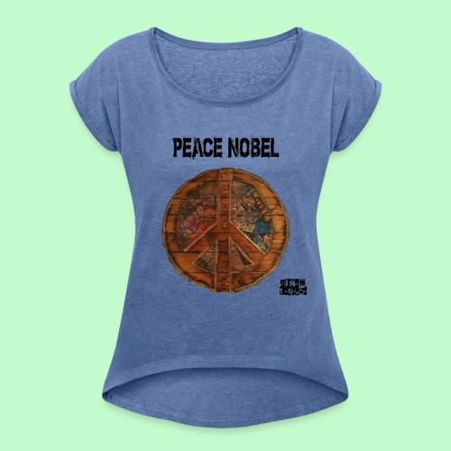 PEACE NOBEL - T-shirt à manches retroussées Femme
