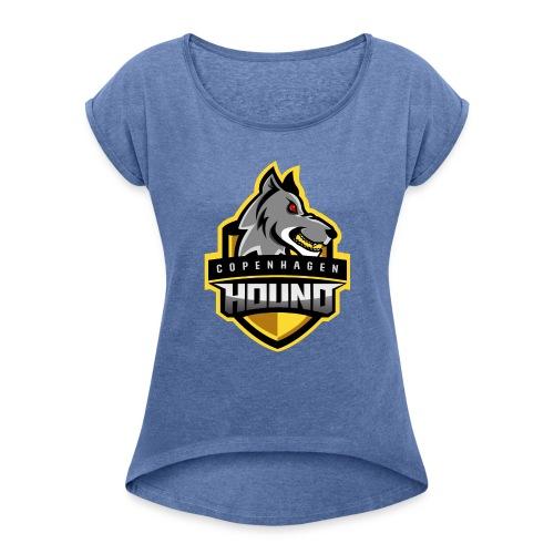 Copenhagen Hounds Merch - Dame T-shirt med rulleærmer