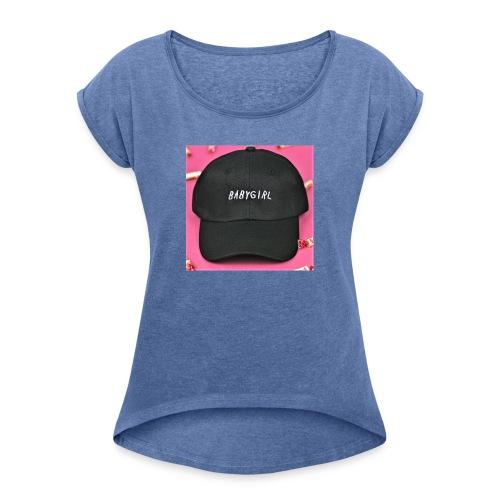 gorra babygirls - Camiseta con manga enrollada mujer