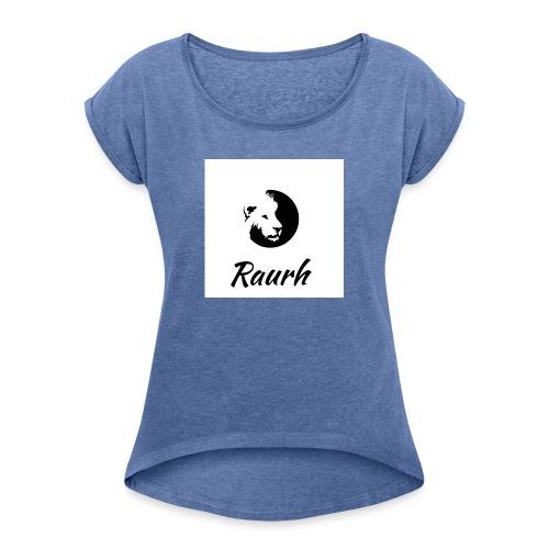 Raurh lions - T-shirt à manches retroussées Femme