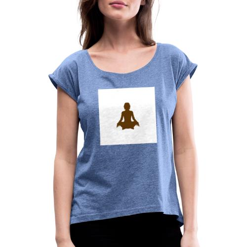 spiritual - Women's T-Shirt with rolled up sleeves