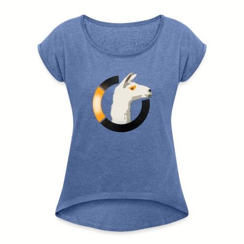 LamaWatch Style - T-shirt à manches retroussées Femme