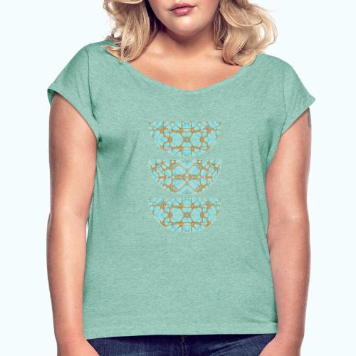 Geometry compostion - Women's T-Shirt with rolled up sleeves