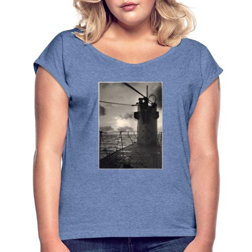 U-Boot - Camiseta con manga enrollada mujer