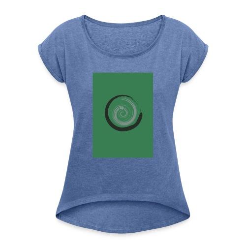 Drop - Maglietta da donna con risvolti