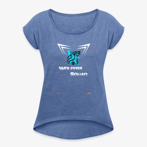Camiseta WS - Camiseta con manga enrollada mujer