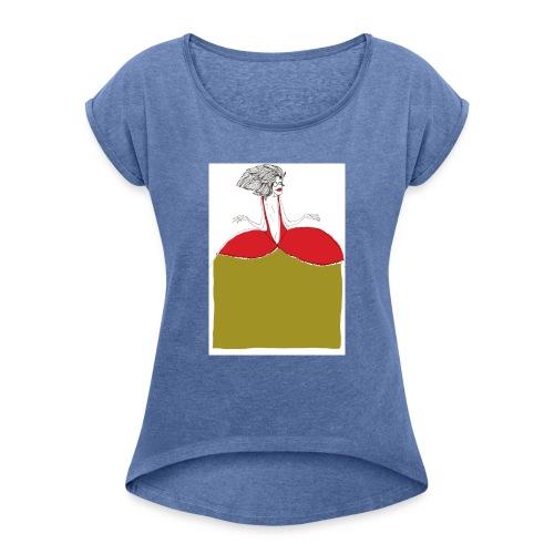princesse - T-shirt à manches retroussées Femme