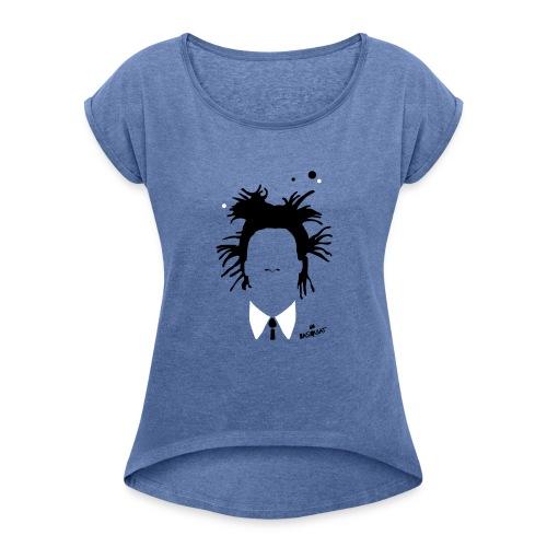 Jean Michel Basquiat - Maglietta da donna con risvolti