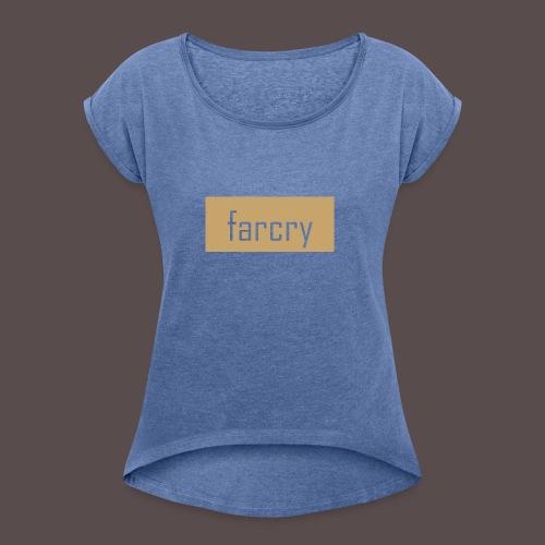 farcryclothing - Frauen T-Shirt mit gerollten Ärmeln