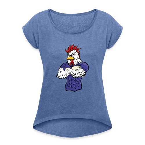 l'equipe - Women's T-Shirt with rolled up sleeves