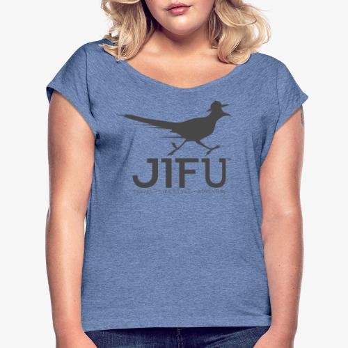 JIFU Experience Berlin - Women's T-Shirt with rolled up sleeves