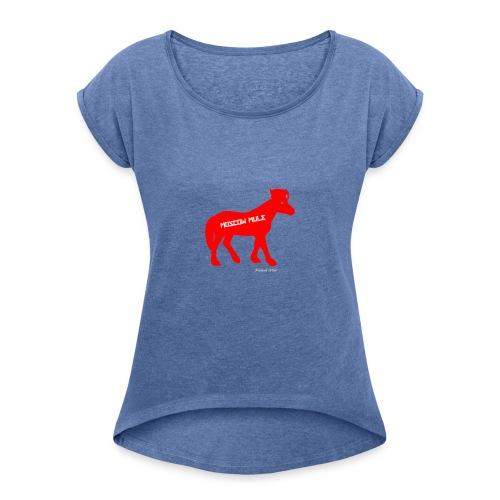 Moscow Mule Limited Edition - Maglietta da donna con risvolti