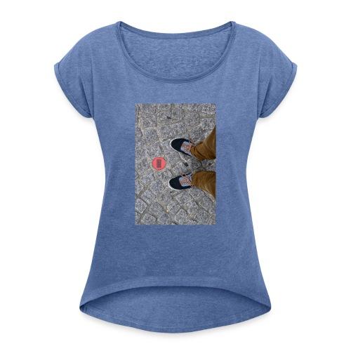 Centro Georges Pompidou - Maglietta da donna con risvolti
