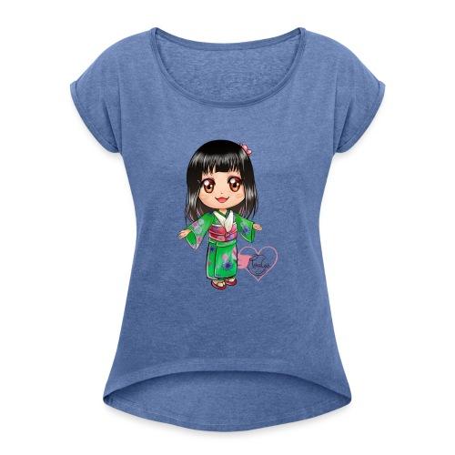 Rosalys crossing - T-shirt à manches retroussées Femme