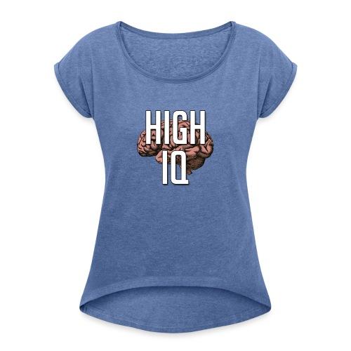 XpHighIQ - T-shirt à manches retroussées Femme