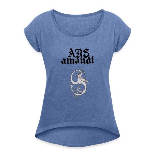 arsamandi1 - Camiseta con manga enrollada mujer
