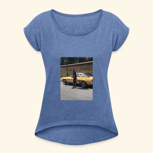 19691433 10213795828280628 1126031919 n - Women's T-Shirt with rolled up sleeves