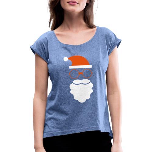 Noel - T-shirt à manches retroussées Femme