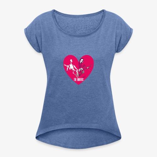 We love the Ennrons! - Vrouwen T-shirt met opgerolde mouwen