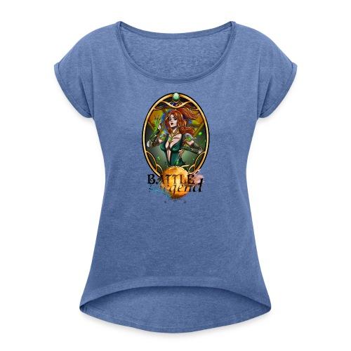 Battle for Legend : Mythrilisatrice - T-shirt à manches retroussées Femme