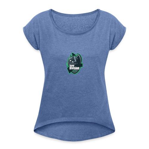 Team Division - Frauen T-Shirt mit gerollten Ärmeln