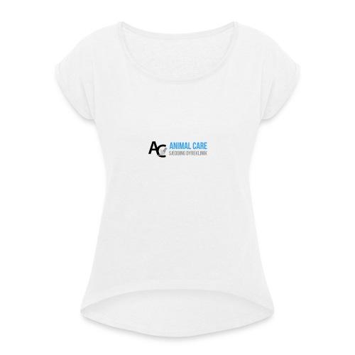 Sædding_Dyreklinik_ by Lattapon - Dame T-shirt med rulleærmer