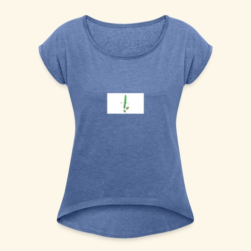 Beaned - Women's T-Shirt with rolled up sleeves
