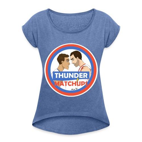 Thunder Matchups Logo - Maglietta da donna con risvolti