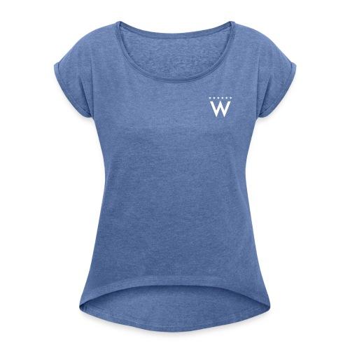 wonderbandikonlegacy - T-shirt med upprullade ärmar dam