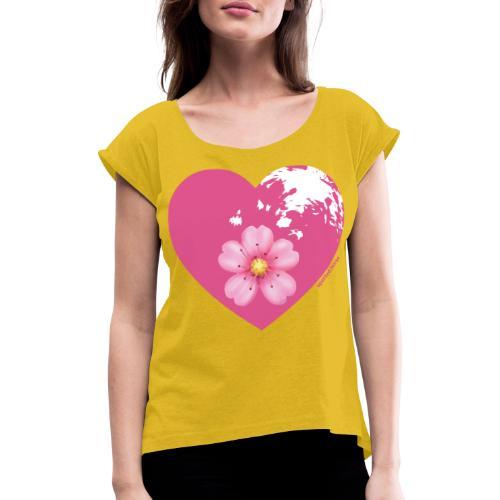 GINNY GUN LENAS LOGO - Maglietta da donna con risvolti