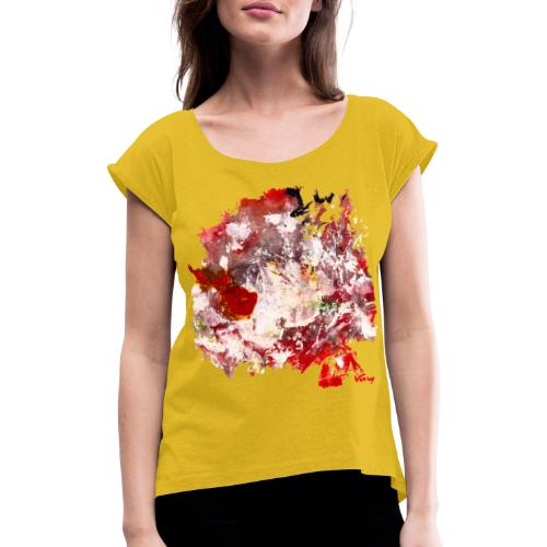 CorpsInSnow - T-shirt à manches retroussées Femme