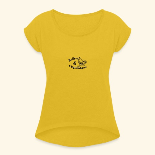 Classic - T-shirt à manches retroussées Femme