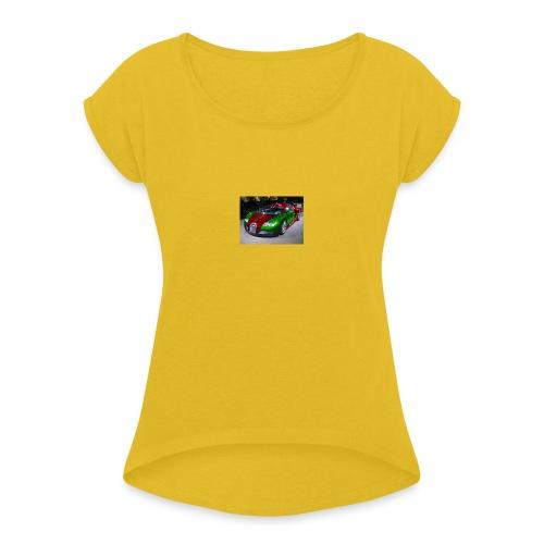 2776445560_small_1 - Vrouwen T-shirt met opgerolde mouwen