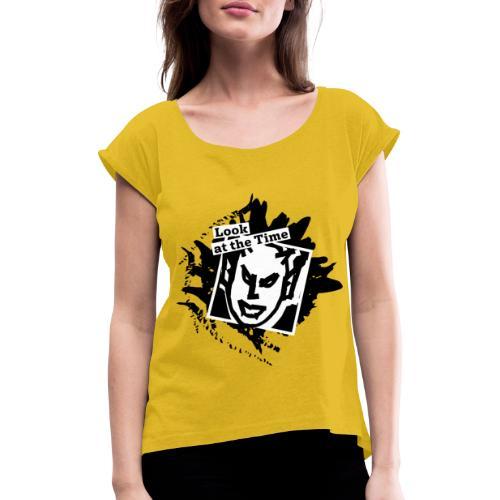 Diablo - Maglietta da donna con risvolti