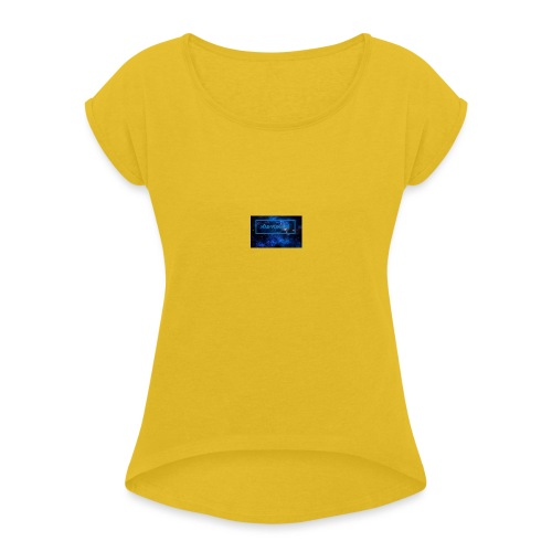 IMG_0211 - Women's T-Shirt with rolled up sleeves