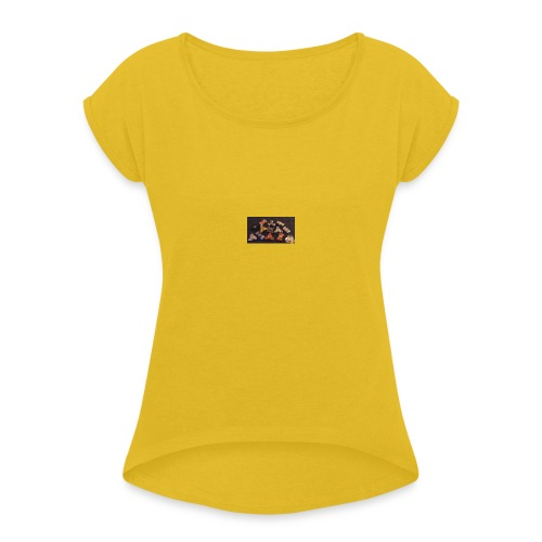 Jaiden-Craig Fidget Spinner Fashon - Women's T-Shirt with rolled up sleeves